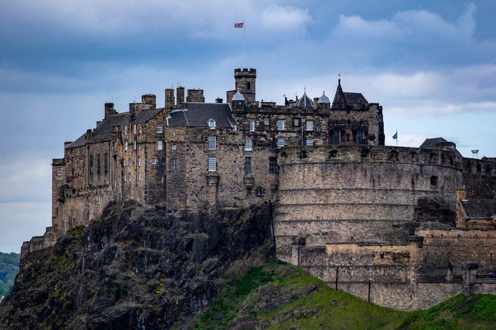 scottish castle tour during scottish fishing holiday
