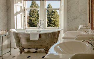 luxury bath in scottish hotel