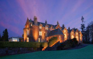 5* luxury fishing hotel Scotland