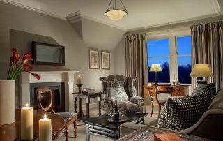 5* luxury bedroom during fishing trip in scotland