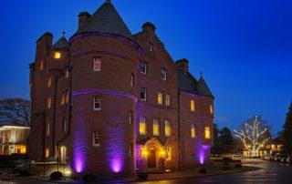 fonab castle stay in scotland