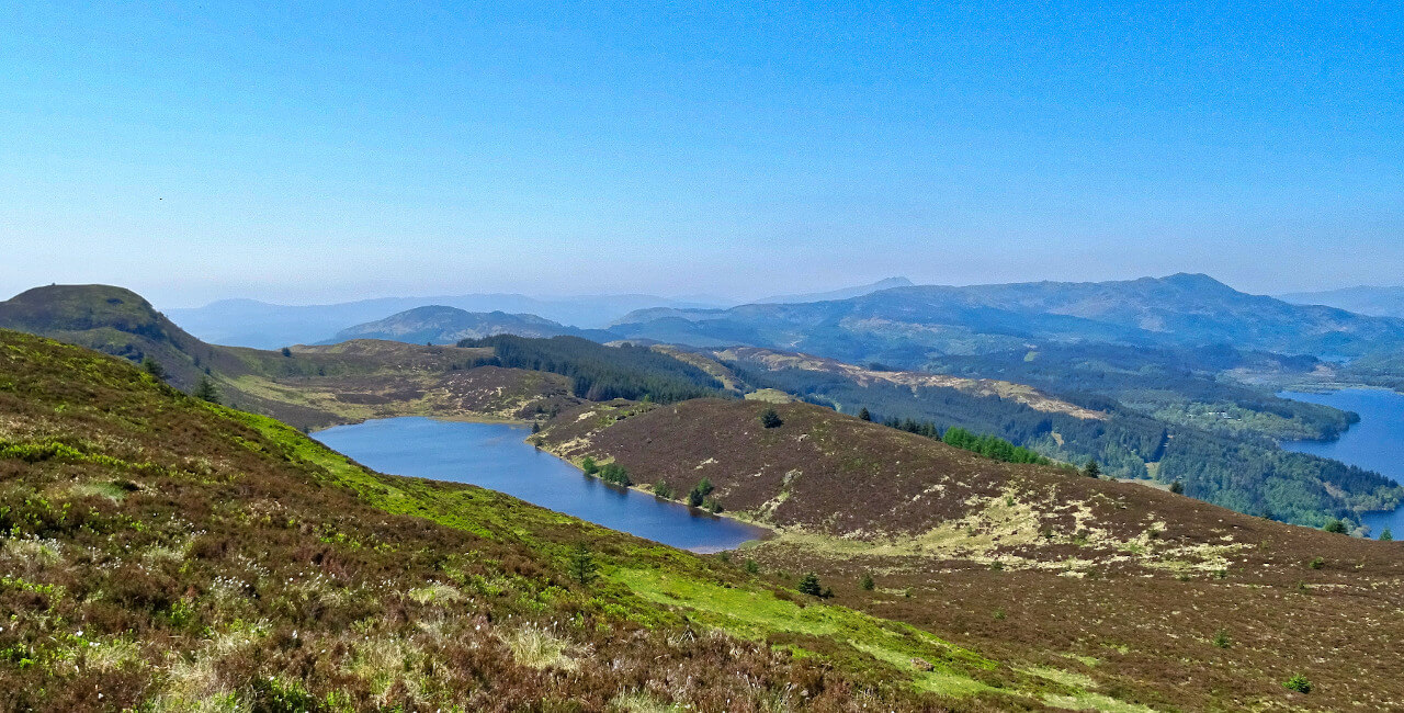 hill loch fly fishing guide in scotland