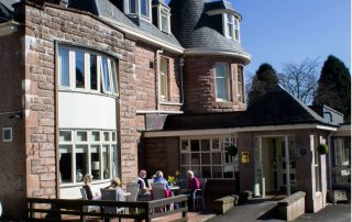 hotel for guided fly fishing trip in scotland