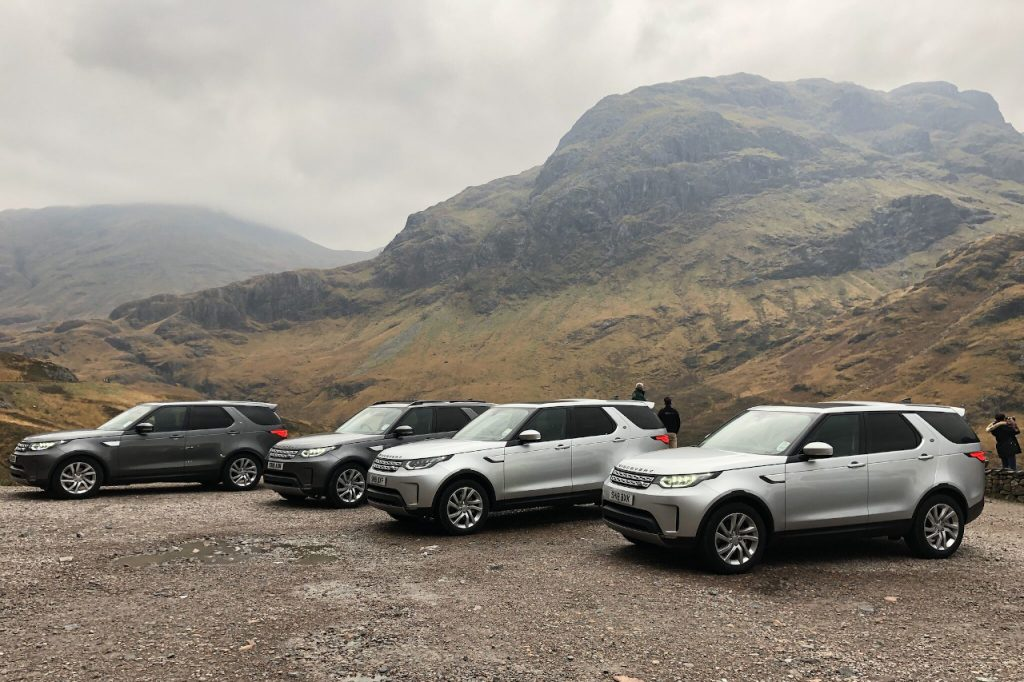 luxury transport used during fly fishing holiday in scotland